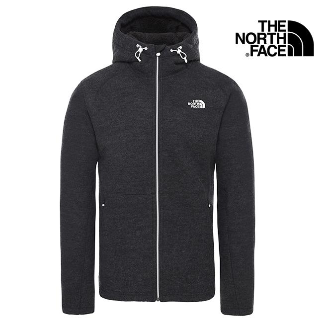 【送料無料】THE NORTH FACE(ザ・ノースフェイス)Men's Zermatt Full Zip Hoodie T0CF98KS7 メンズ パーカー フリース ニットジャケット S M L ブラック 黒
