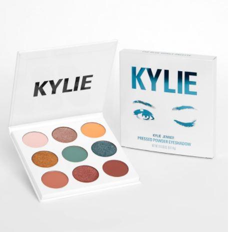 カイリー・コスメティックス(Kylie Cosmetics)アイシャドウパレット【ブルーハニー】THE BLUE HONEY PALETTE pressed powder eye shadow palette
