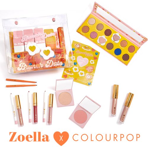 限定☆Zoella×ColourPop カラーポップ ZOELLA PR COLLECTION Kit 全15点セット