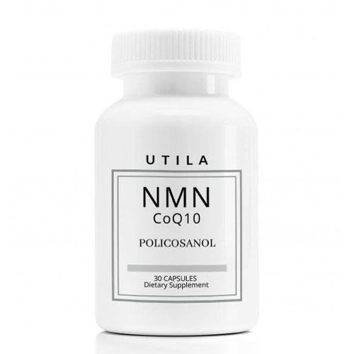 UTILA NMN + コエンザイムQ10・ポリコサノール サプリメント【30カプセル】