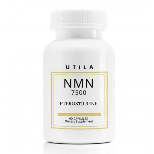 UTILA NMN7500 NMN+メチル化 レスベラトロール(プテロスチルベン)サプリメント【60カプセル】