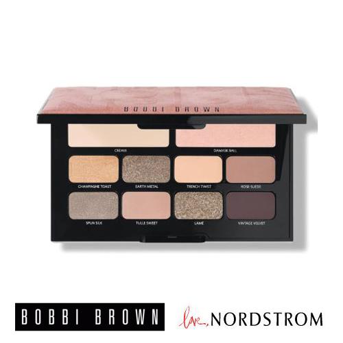 限定☆BOBBI BROWN x Nordstrom (ボビイ ブラウン×ノードストローム )アイシャドウ ヌード10色パレット Haute Nudes Palette