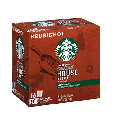 スターバックス Decaf ディカフェ ハウスブレンド128個(16×8箱) ミディアムロースト キューリグ kカップ K-CUP Starbucks Decaf House Blend