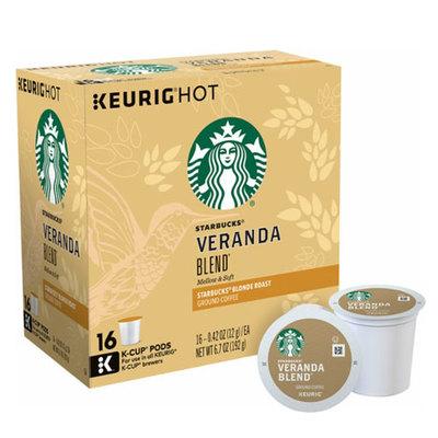 スターバックス ヴェランダ128個(16×8箱) ライトロースト キューリグ kカップ K-CUP Starbucks Veranda