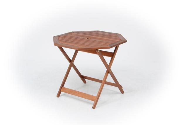 折りたたみ八角テーブル 90cm幅(単品) 送料無料 激安セール アウトレット価格