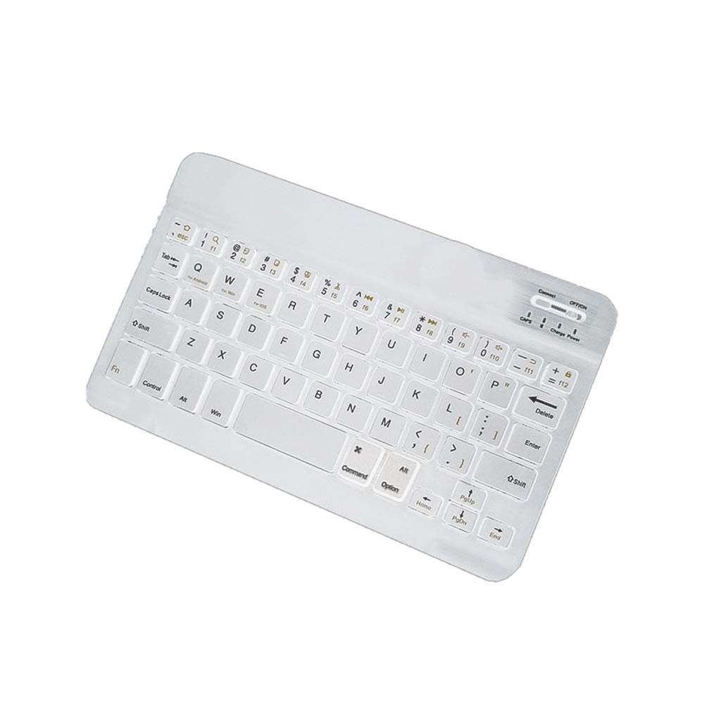 品質保証 送料無料 スマホ 10インチ 無線 Bluetooth キーボード ホワイト 持ち歩き おしゃれ まとめ買い特価 iPhone iPad BIGSMA3-WH Android パソコン デザイン タイピング