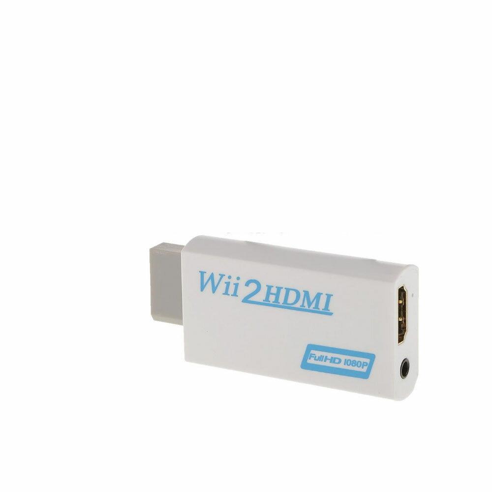 クレジットカード決済のみ送料無料!!! Wii ウィー 映像 HDMI 変換 アダプター フル HD 1080p 任天堂 Nintendo ニンテンドウ WIIHDMI