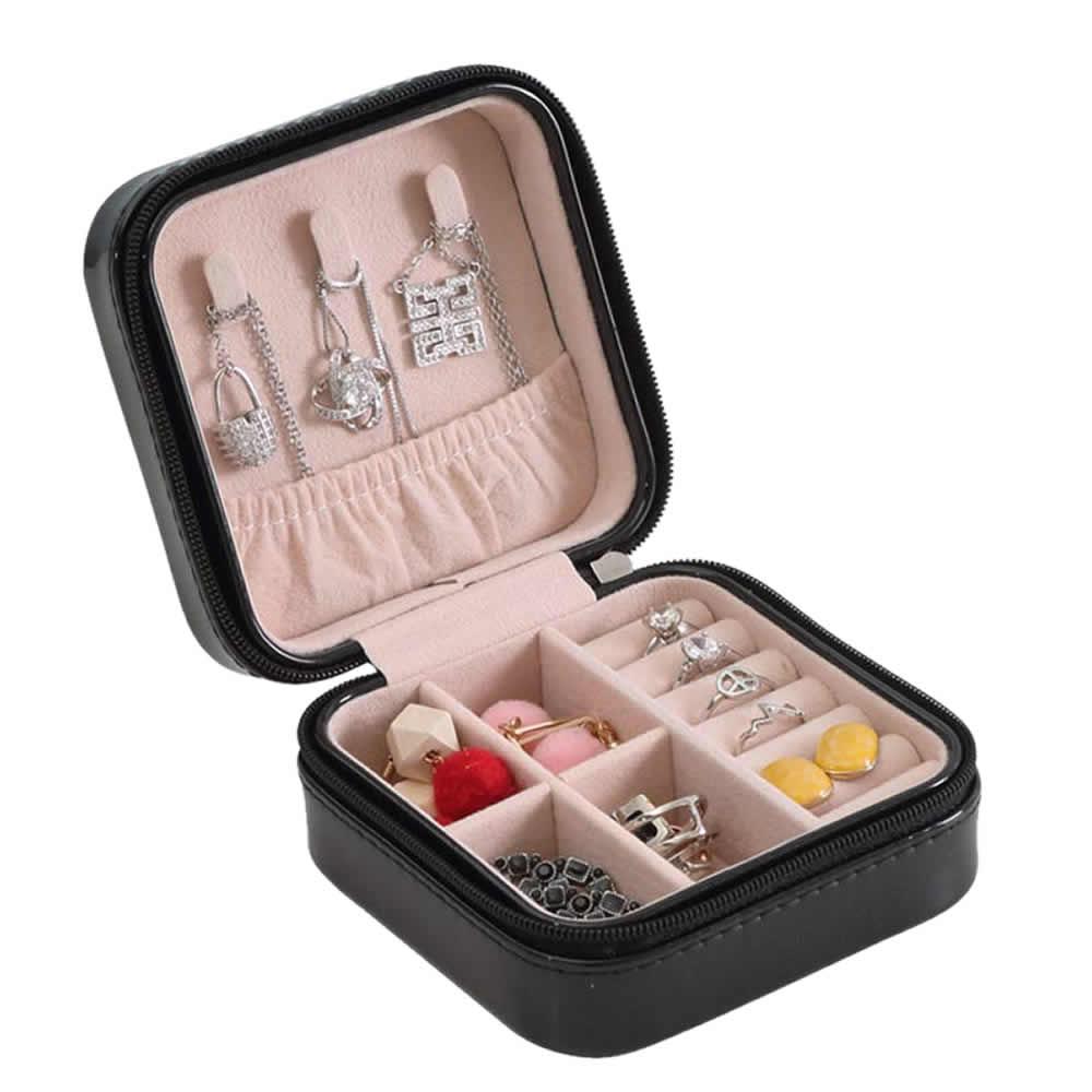 送料無料 ジュエリーボックス03 最新アイテム ブラック マーケット アクセサリーケース 収納ケース SINJUE-BK レディース 小物入れ 宝石箱