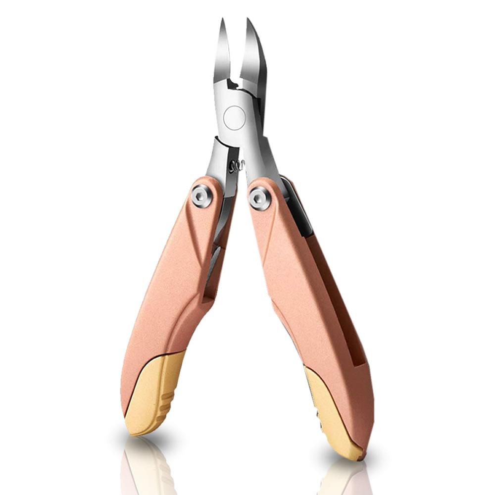 送料無料 爪切り3in1 ニッパー ローズゴールド ステンレス製 折り畳み式 爪やすり付き 記念日 硬い爪などにも対応 ゾンデ BIZUMEN-RG 巻き爪 手足兼用 早割クーポン