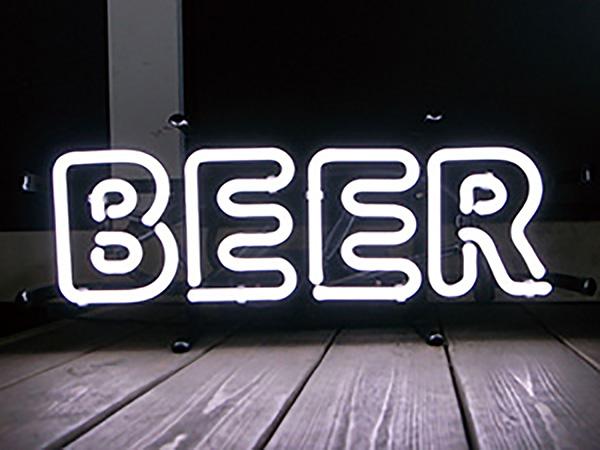 アメリカン ネオンサイン ビール ビア( BEER )H120×W380mm ネオン看板 ネオン管 西海岸風 インテリア アメリカン雑貨