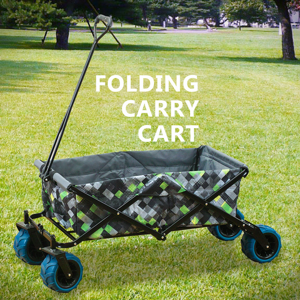 Folding carry cart load 80 kg carrier outdoor leisure picnic BBQ  cherry-blossom viewing fireworks appreciation outdoors festival cart garage  West