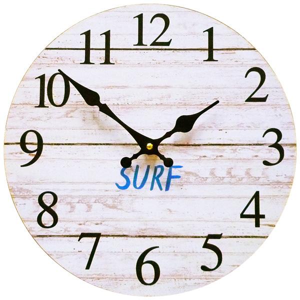 発売モデル 青い空に白い雲 西海岸の風を感じる壁掛け時計 おしゃれ 時計 サーフィン 波 海 ウエーブ 新生活 まとめ買い特価 もようがえ サーフ ウォールクロック 西海岸雑貨 インテリア 28.5cm アメリカン雑貨 壁掛け時計 KS-OLCLWASH 西海岸風 WH