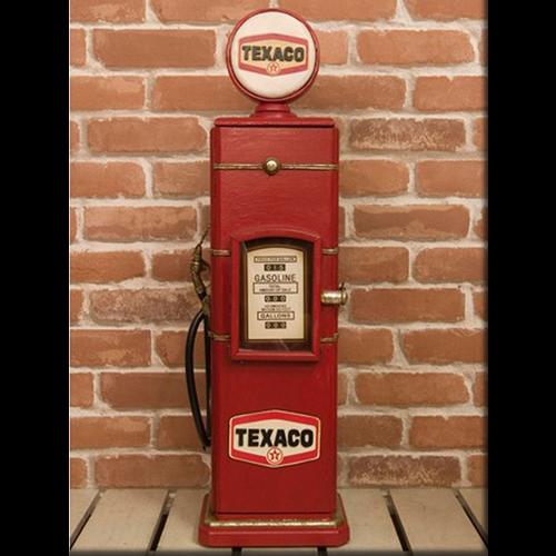 Texaco Gas Pump Cd Tower Cabinet Multi Rack