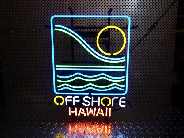 アメリカ西海岸 オフ・ショア(ハワイ) ネオン管 ネオンサイン ネオン看板 西海岸風 インテリア アメリカン雑貨