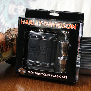ハーレーダビッドソンフラスクセット HDL-18505 bourbon American motorcycle motorcycle