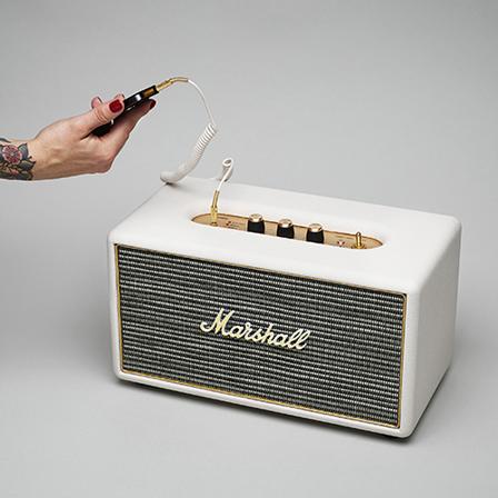 世界的ブランド、マーシャルの伝統を継承したSTANMORE(スピーカー) マーシャル(Marshall )スピーカー ホワイト スタンモア 2(STANMORE 2)ヘッドホン イヤホン ロック ギター アンプ 西海岸風 インテリア アメリカン雑貨