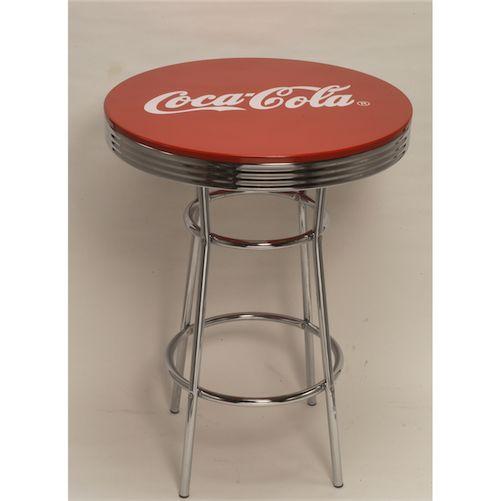 USA Coca-Cola コカコーラ ハイテーブル バーテーブル テーブル バー 西海岸風 インテリア アメリカン雑貨