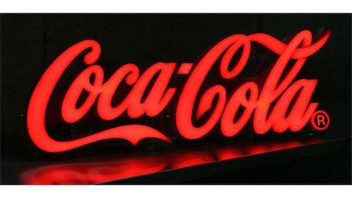 看板 店舗用 コカコーラ(Coca-Cola)のLEDネオンサイン ネオン管 ネオン看板 看板 USA 西海岸風 インテリア アメリカン雑貨