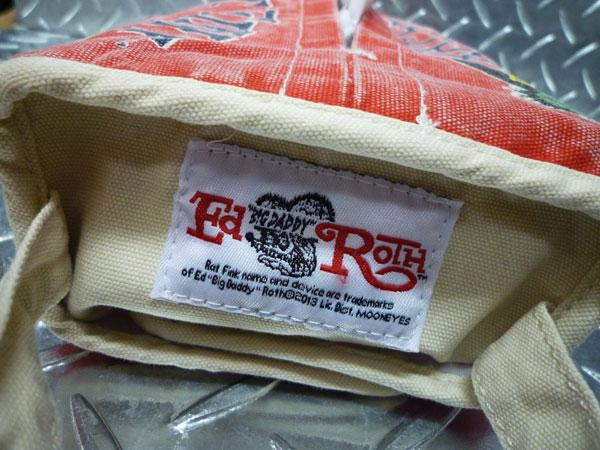 Rat Fink Tish case / tissue cover red RAT FiNK