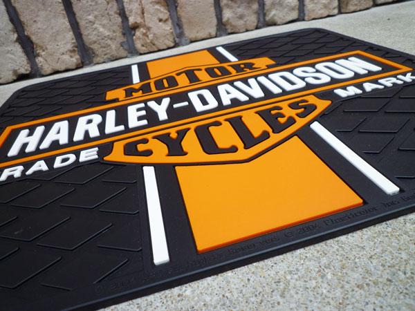 Lavieen Mat Doorstep Garage Mat Mat For Harley Davidson