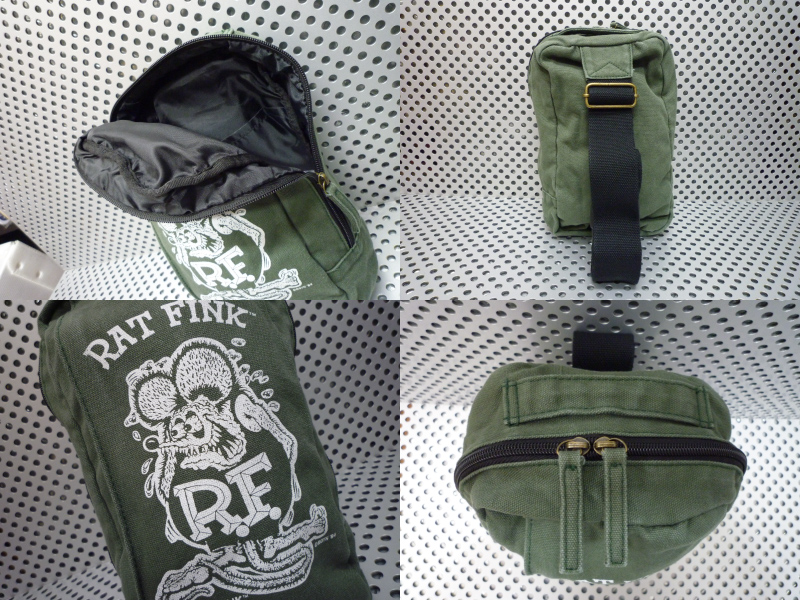 American canvas body bag (Rat Fink) 3 West back casual bag casual