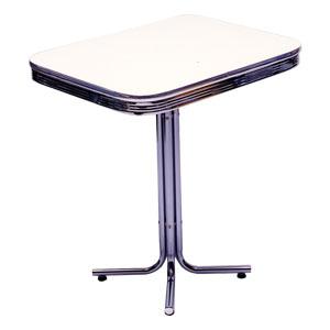 アメリカン S-TABLE エス テーブル(アイボリー)ダイナーテーブル アメリカンテーブル アメリカンダイナー テーブル 家具 西海岸風 インテリア アメリカン雑貨