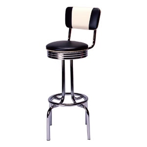 Vバックスツール BARチェア V-BACK STOOL Vinyl 椅子 カウンターチェア おしゃれ スツール オールド アメリカン 家具 西海岸風 インテリア アメリカン雑貨