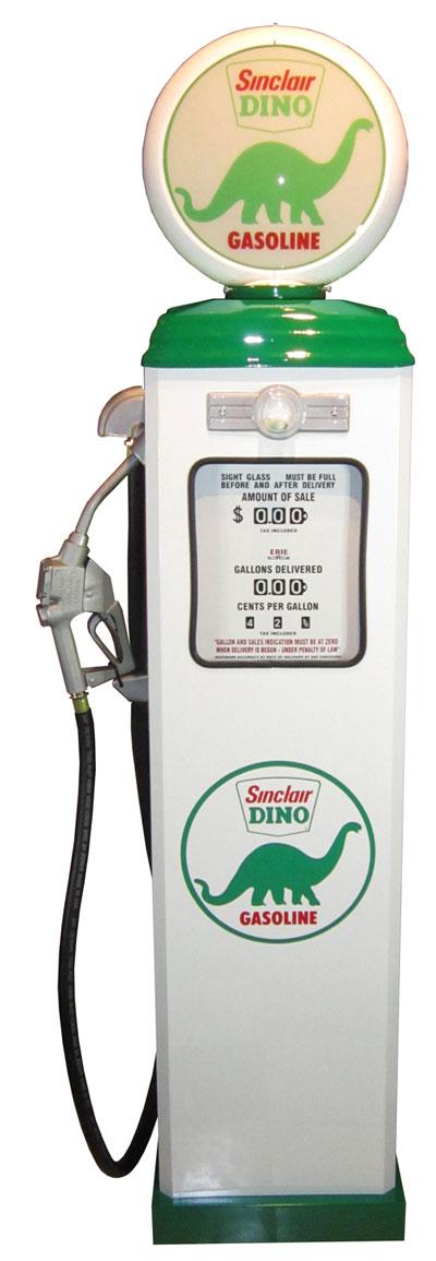 1950年代のガスポンプ DINO ライト付き オブジェ 195cm 《GAS PUMP》 プロモーション ガレージ 西海岸風 インテリア アメリカン雑貨