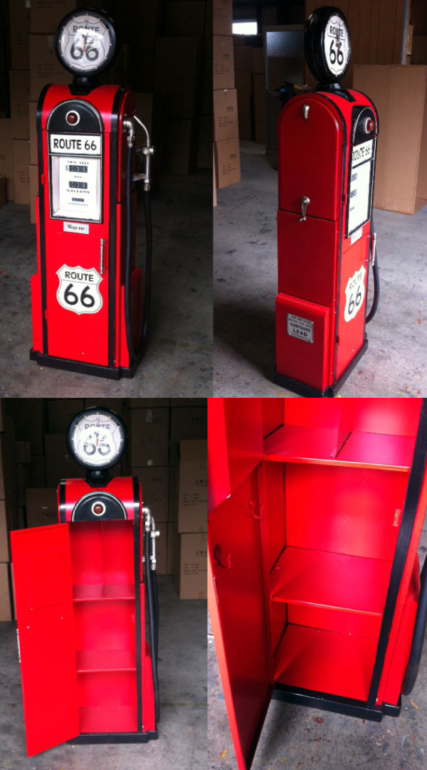 Lavieen Rakuten Global Market Gas Pump Type Multimedia Cabinet