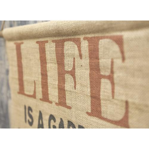 牆上裝飾內牆 (生活) 97 釐米古董掛毯掛毯。