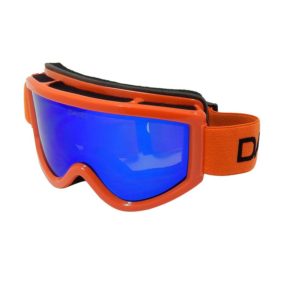 【送料無料】【正規代理店】DANG SNOW Gloss Orange Frame x Blue Mirror Lens vidgg0006【スノーゴーグル】【サングラス付】