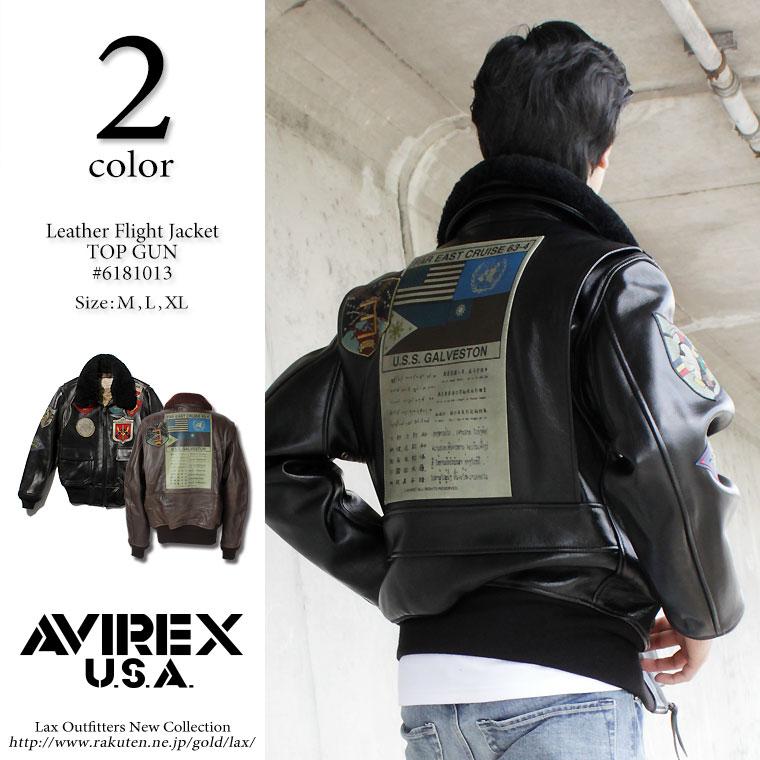 2c9d0f356f9 Top gun jacket g-1 g1 6181013 (avirex avirex military flight jacket jacket  leather jackets leather Jean g-1-2-3 N-3B)