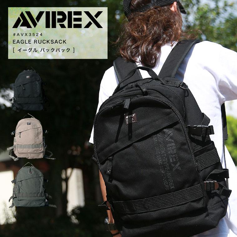 AVIREX アビレックス イーグルリュックサック AVX3524▲