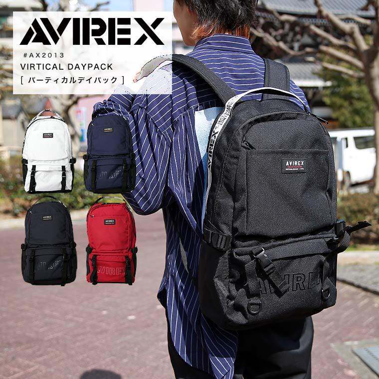 AVIREX アビレックス バーティカルデイパック AX2013▲【ラッキーシール対応】【SALE 返品・交換不可】