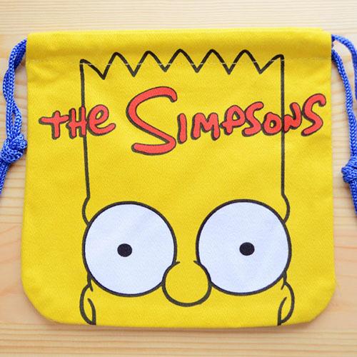 アメリカンキャラ巾着袋(S) シンプソンズ Simpsons LJK-S024 アメリカンキャラ巾着袋(S) シンプソンズ Simpsons LJK-S024