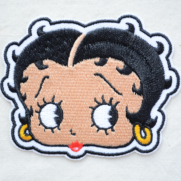 Betty Boop Iron on Applique