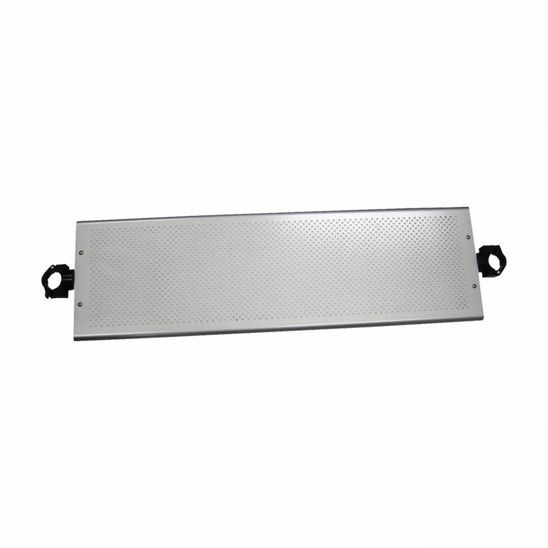 パンチング連結棚板(奥行260mmタイプ)金具 ブラック HS30