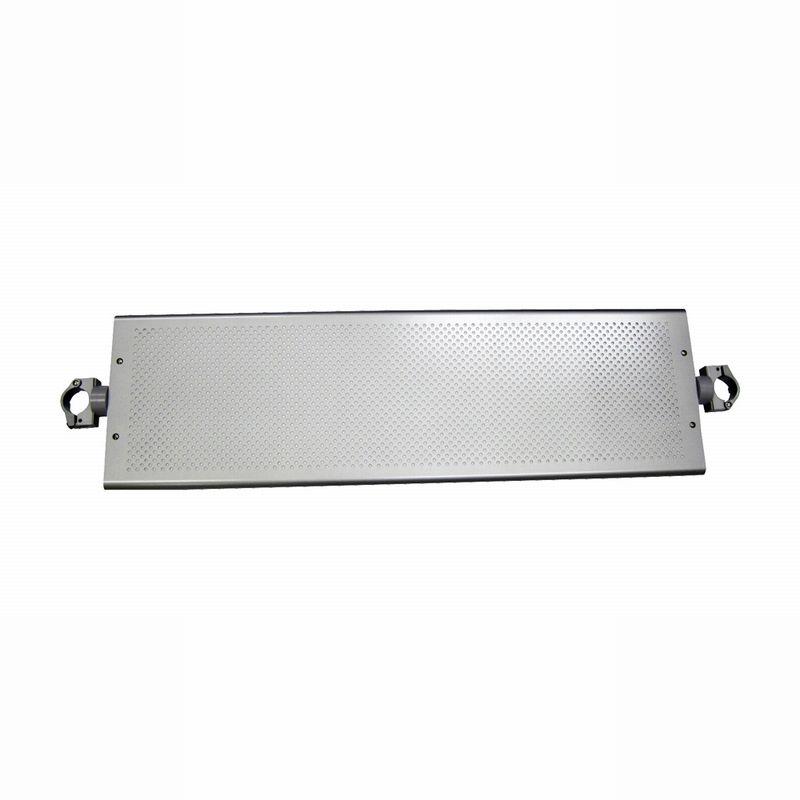 パンチング連結棚板(奥行260mmタイプ)金具 シルバーHSS30