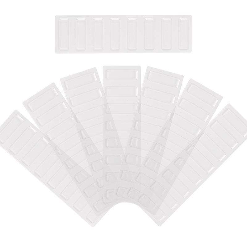 40%OFFの激安セール 壁掛け収納セット 公式 ホッチキス取付専用部品 交換用透明フィルム 8枚入 LBKB-F8