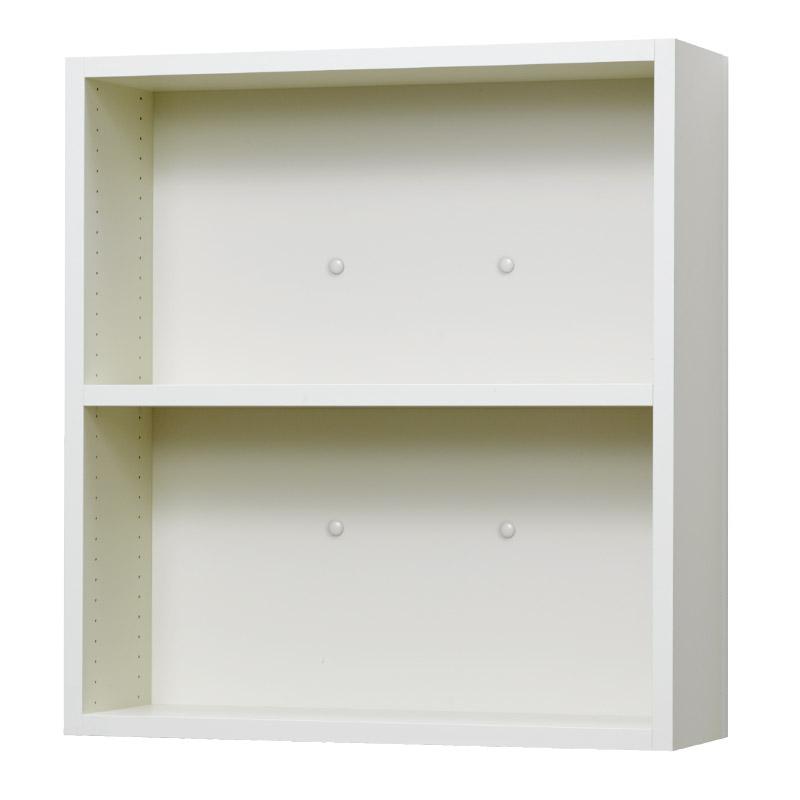 壁掛け収納セット ホッチキス取付タイプ(オープン) LBKB6266(外寸:幅620×奥行181×高さ660)