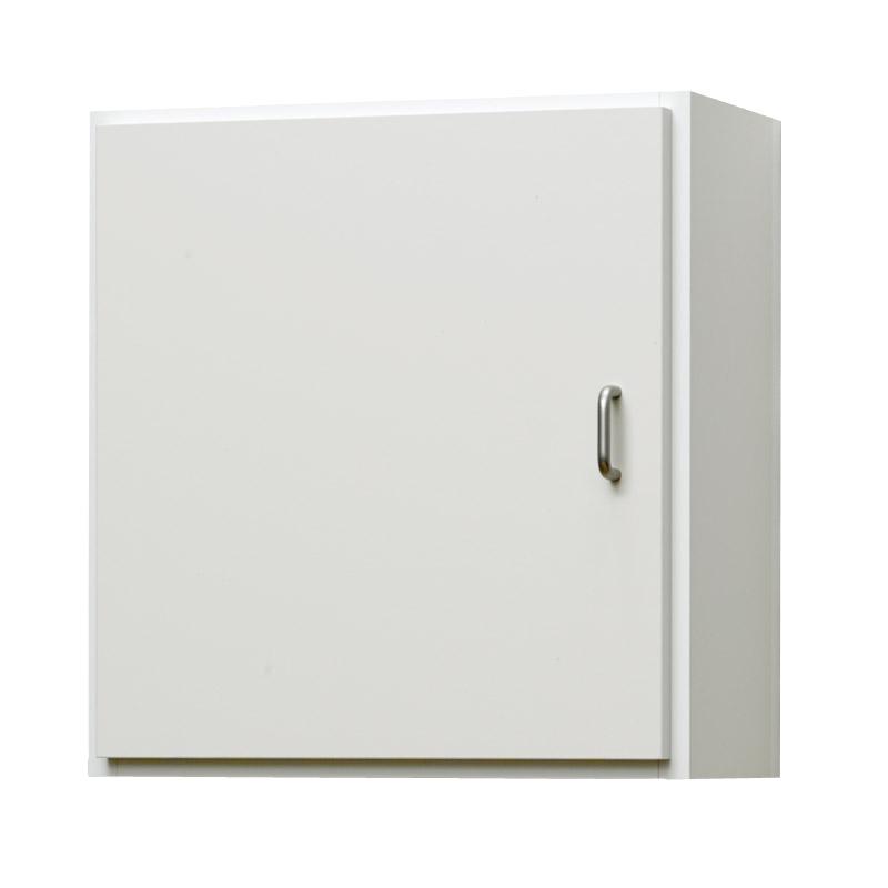 壁掛け収納セット 壁面金具取付タイプ(扉付き) LBKF4042313(外寸:幅400×奥行177×高さ420)