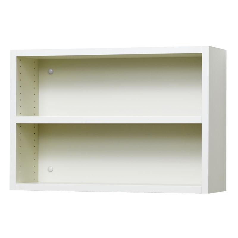 壁掛け収納セット 木ネジ取付タイプ(オープン) LBKS6242(外寸:幅620×奥行181×高さ420)