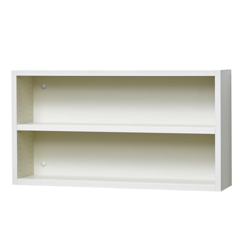 壁掛け収納セット 木ネジ取付タイプ(オープン) LBKS7842(外寸:幅780×奥行181×高さ420)