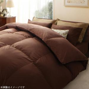 日本製ウクライナ産グースダウン93% ロイヤルゴールドラベル羽毛掛布団単品 Bloom ブルーム シングルサイズ