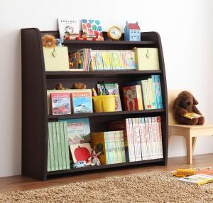 キッズファニチャー 子供家具 ソフト素材 リビングカラーシリーズ Lkids エルキッズ 本棚 ラージ
