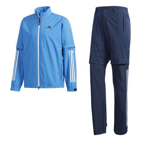 アディダス(adidas) レインウエア レインスーツ メンズ PF CLIMASTORM FVE32-EI5678BL/cN 《B》 付属品:B (Men's)