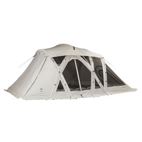 ポイント10倍 5/23 10:00-5/26 9:59 要エントリー スノーピーク(snow peak) テント リビングシェルロングProアイボリー TP-660IV キャンプ用品 ドーム型テント (Men's、Lady's、Jr)