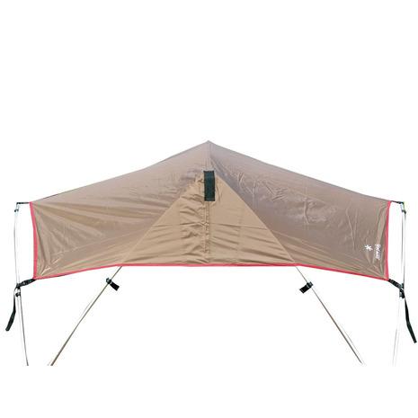 スノーピーク(snow peak) リビングシェル シールドルーフ Living Shell Shield Roof TP-612SR-GY グレー (Men's、Lady's)