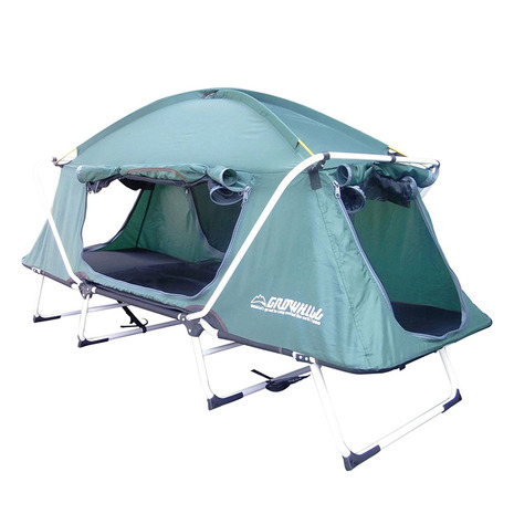 GROWHILL 折り畳み式テントコット TENT COT キャンプ用品 ベッド テント (Men's、Lady's)