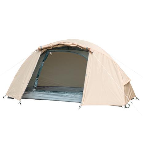 バンドック(BUNDOK) テント テント ツーリング 一人用 2人用 ソロドームワンベージュ BDK-08B 耐水圧3000mm 宿泊 簡単設営 軽量 (メンズ、レディース)